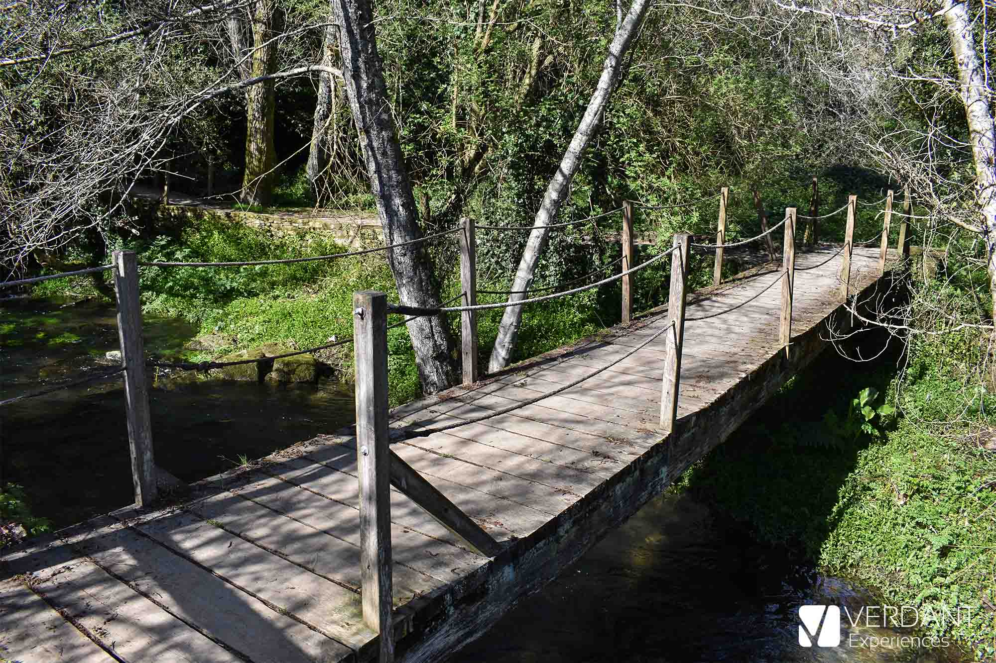 A secret in Santiago de Compostela, the route of the Sarela River